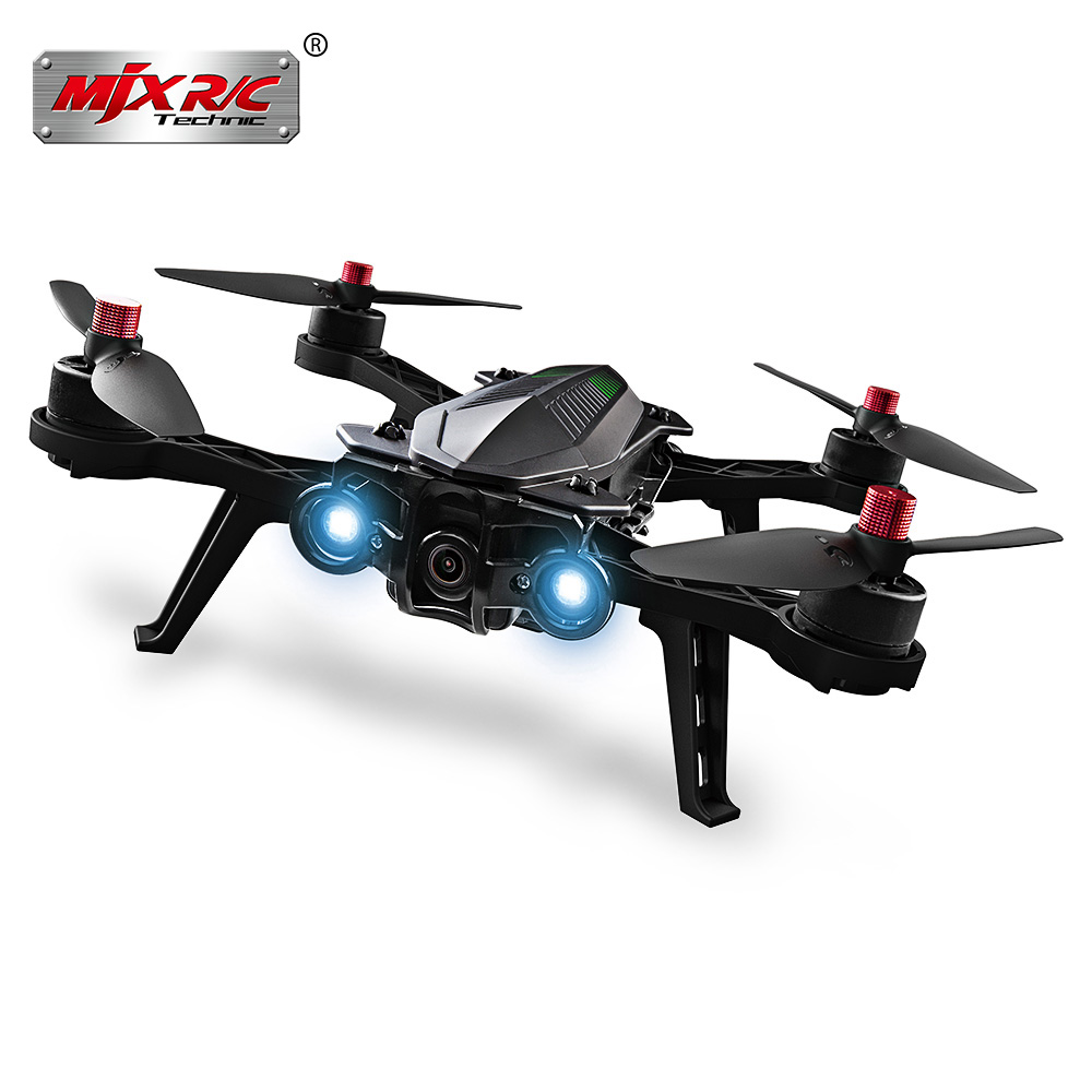 MJX Bugs 6 B6 2.4G RC Helicopter High Speed Brushless Motor RC Drone With Camera FPV Real Time Image Transmission RC Quadcopter