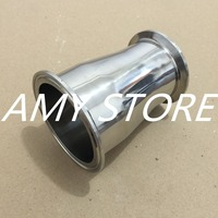 76MM To 63MM 3 To 2 5 Sanitary Ferrule Reducer Fitting SS304 To Tri Clamp NEW