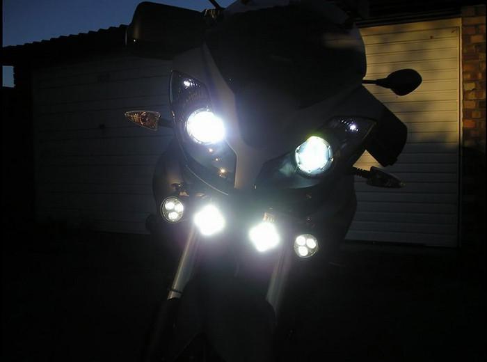 30W 12V 3000lm U2 cree motorcycle headlight 17