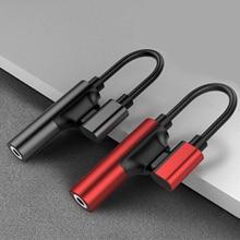 USB Loại C Đến 3.5 Jack Tai Nghe Bộ Chuyển Đổi USB OTG Type C 3.0 C Cáp Sạc Cáp Nối Dài bộ mở rộng