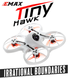 Emax Tinyhawk 75mm F4 Magnum 5.8G Mini RC FPV Drone With Camera 2~3S Lipo Goggles And Transmitter BNF Version New Year Gift