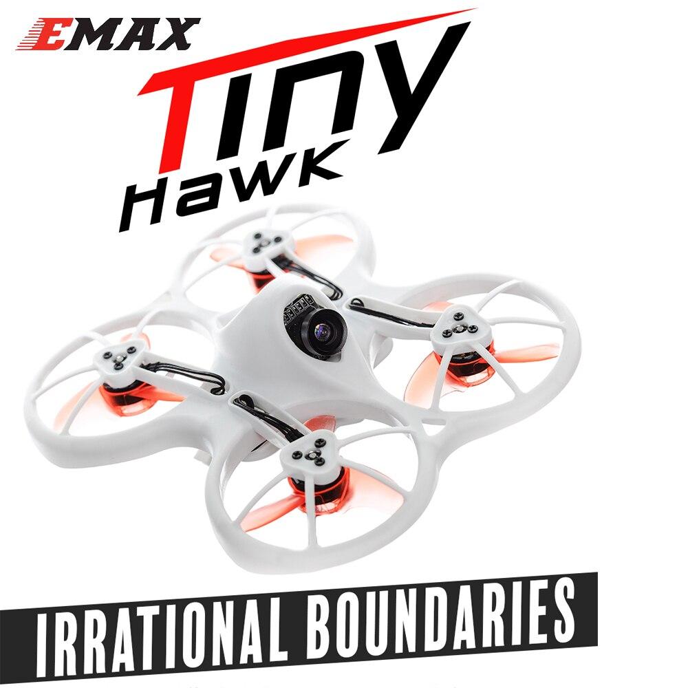 Emax Tinyhawk 75mm F4 Magnum Mini 5.8g FPV RC Drone Avec Caméra 2 ~ 3 s BNF Cadeau 2 paire de 40mm hélices