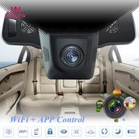 MUQGEW Top Marca Venda Quente Universal Car Invisível HD 1080 P WIFI DVR Veículo Camera Video Recorder Traço Cam Noite visão