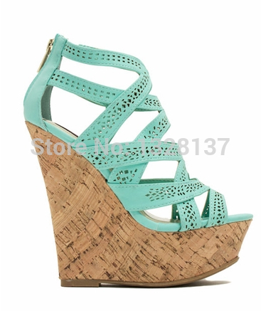 Cute Wedge Heels Cheap - Qu Heel
