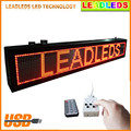 P4.75 Ultra Brightness Red color Led Display Board Program By Keypad or Remote Controller to Display Designated Message