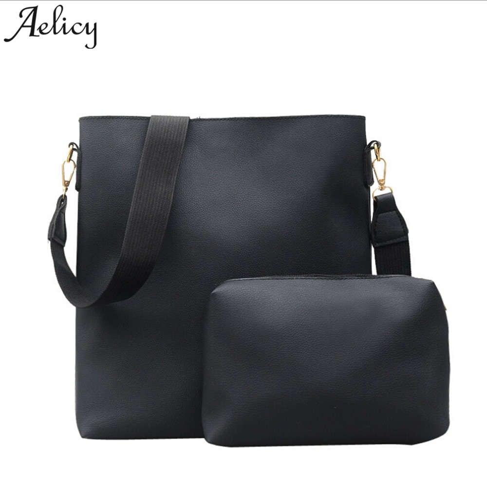 Luggage & Bags Women 4 Pcs Bags Set Handbag Shoulder Bags 4 Pieces Tote Bag Crossbody Purse Case Pu Leather Large Capacity Handbags Bolsa-20