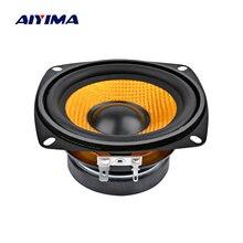 AIYIMA 1 шт. 4 дюйма аудио портативный динамик 4 Ом 15 Вт бас-динамик DIY профессиональный мультимедийный сабвуфер динамик s для звуковой системы