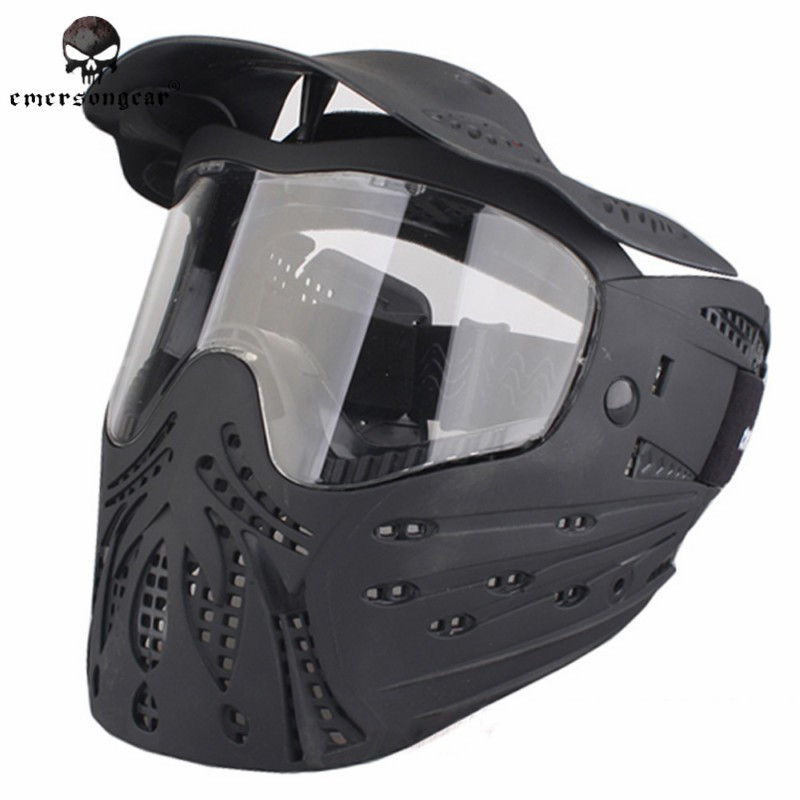 EMERSON Full Face Anti-Strike Mask Tacitcal Anti-fog Masks Military Army Assault Combat Gear Hunting Accessories EM6603 pyramex venture gear pagosa sw518t anti fog