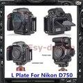 Pro Vertical L Type Bracket Tripod Quick Release L Plate Base Holder Perfect For Nikon D750 PT150