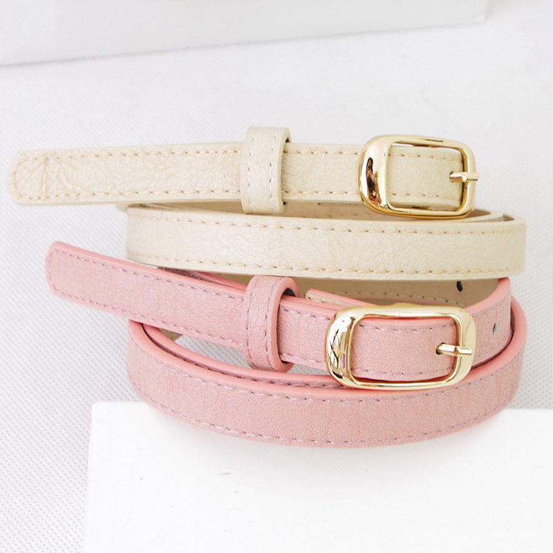 Fresh sweet pink font b belt b font font b women s b font casual all