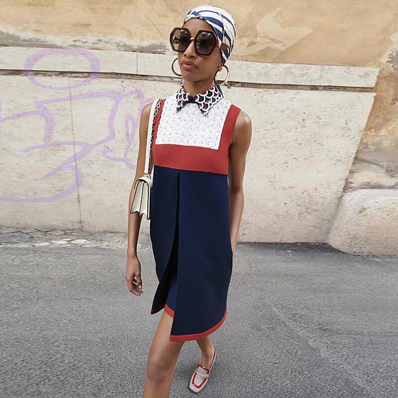 dd973ce8883 Chic Femmes Multi Moulante Qualité Courte Sexy Robes Mode Travail Vintage  Gilet Robe Piste Automne Partie ...