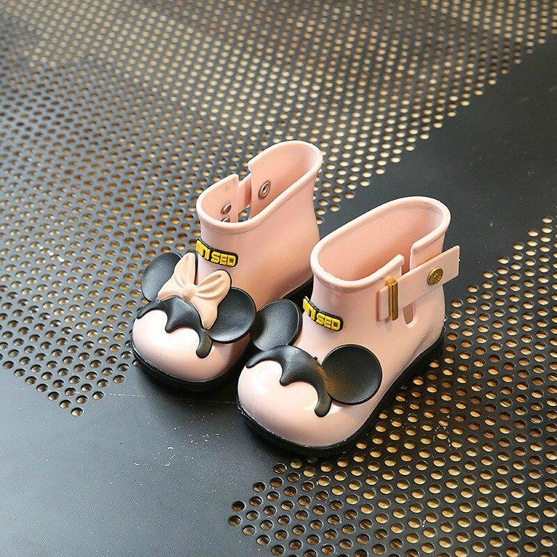 Baby-Gelee Rainshoes Bogen Stiefel Sandale Niedlichen Schuhe Kinder Regen Boots Girls Baby Kids Shoes Eur 19 - 31 ...