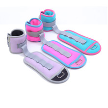 0.5kg/pair Adjustable Leg Ankle Weights Straps Strength Training Exercise Fitness Equipment For Running Basketball Football