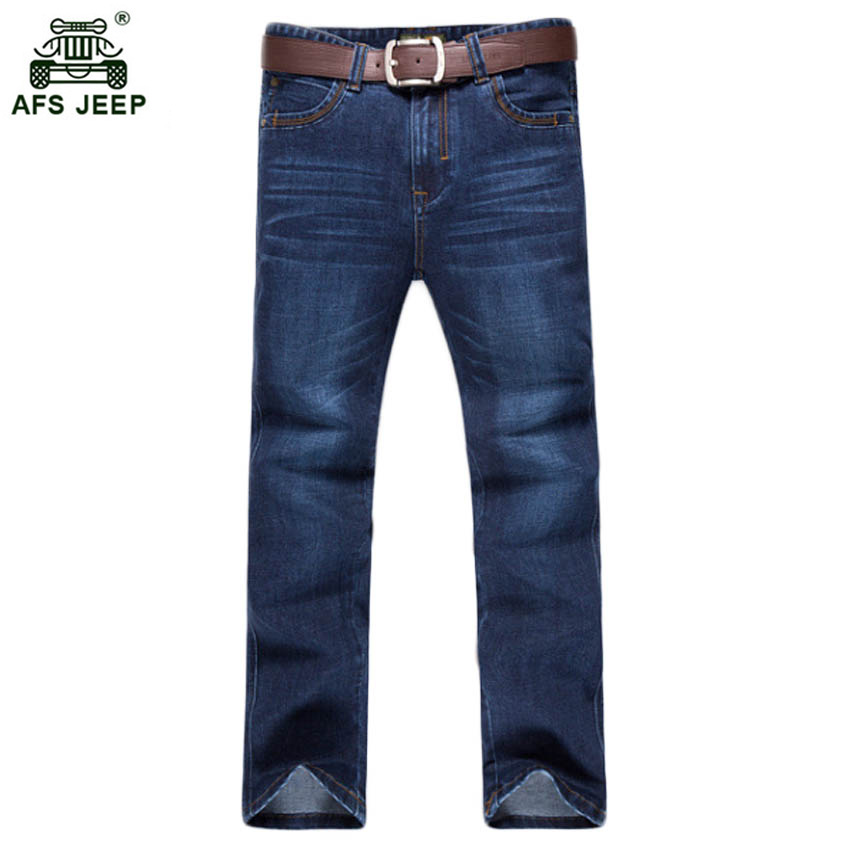 Free shipping men jeans 2017 new jeans men straight leg denim trousers slim mens pants thin cool pantalones 60hfx