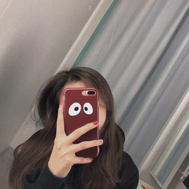 Super Qute Big Eyes Tumblr Case For Iphone 6 6s 6plus 6s Plus Back
