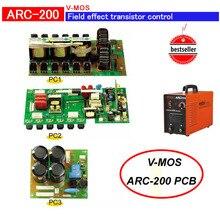 Полевой транзистор ZX7 200(AC220V) PCB с MOSFET управления инвертора сварщика(PC1+ PC2+ PC3