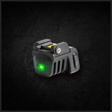 Laserspeed adjustable self defense tactical mini rail mounted pistol green aiming rechargeable laser sight