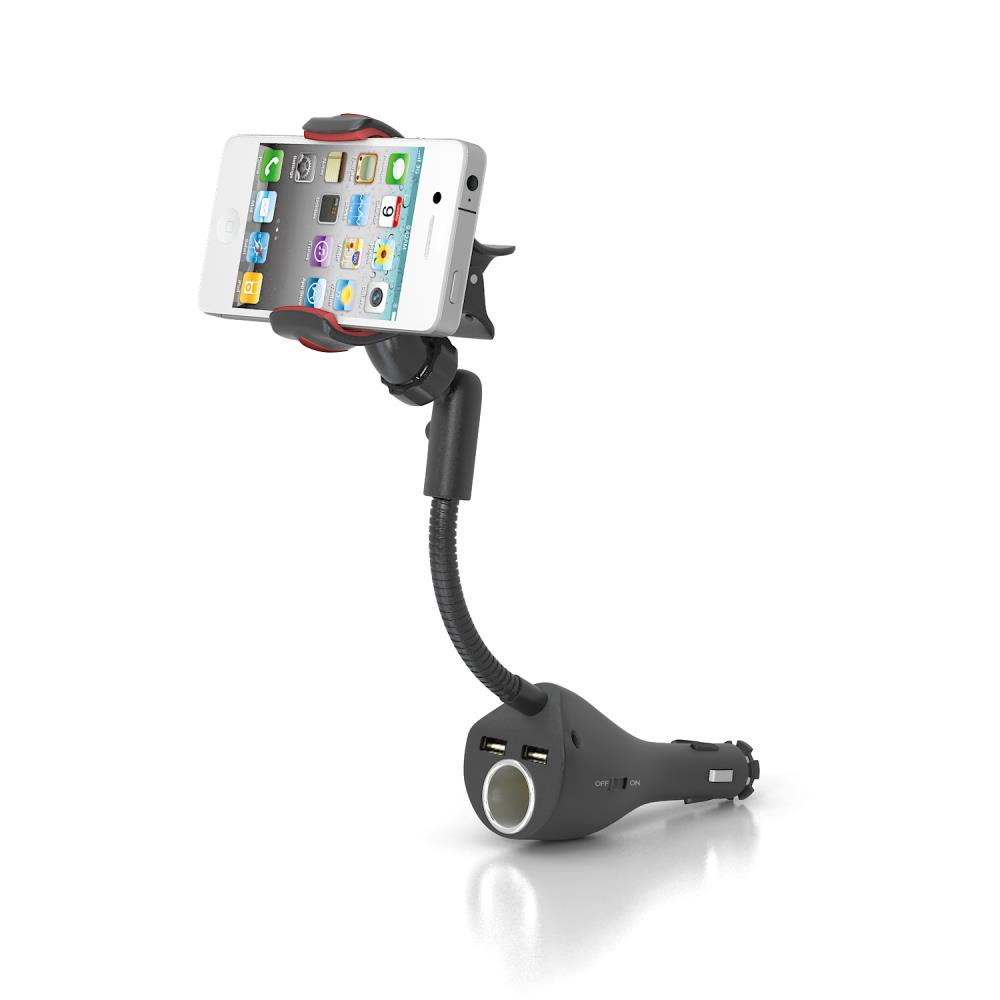 Multifunction Car phone holder Clamp car mount for mobile