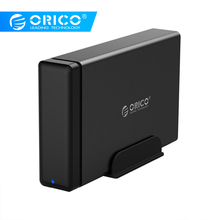 ORICO Aluminum Type-C to SATA3.0 Hard Drive HDD Dock Enclosure 3.5 in HDD Case Support UASP Power MAX 10TB Capacity for Seagate