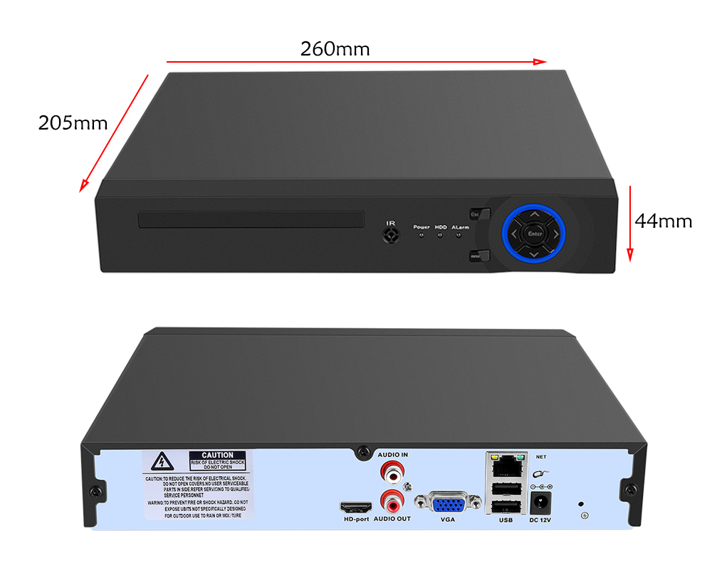 Image 2 - USAFEQLO2 25CH 5MP 32CH 1080P 8CH 4K CCTV H.264/H.265 NVR DVR Network Video Recorder Onvif 2.0 for IP Camera 2 SATA XMEYE P2P-in Surveillance Video Recorder from Security & Protection