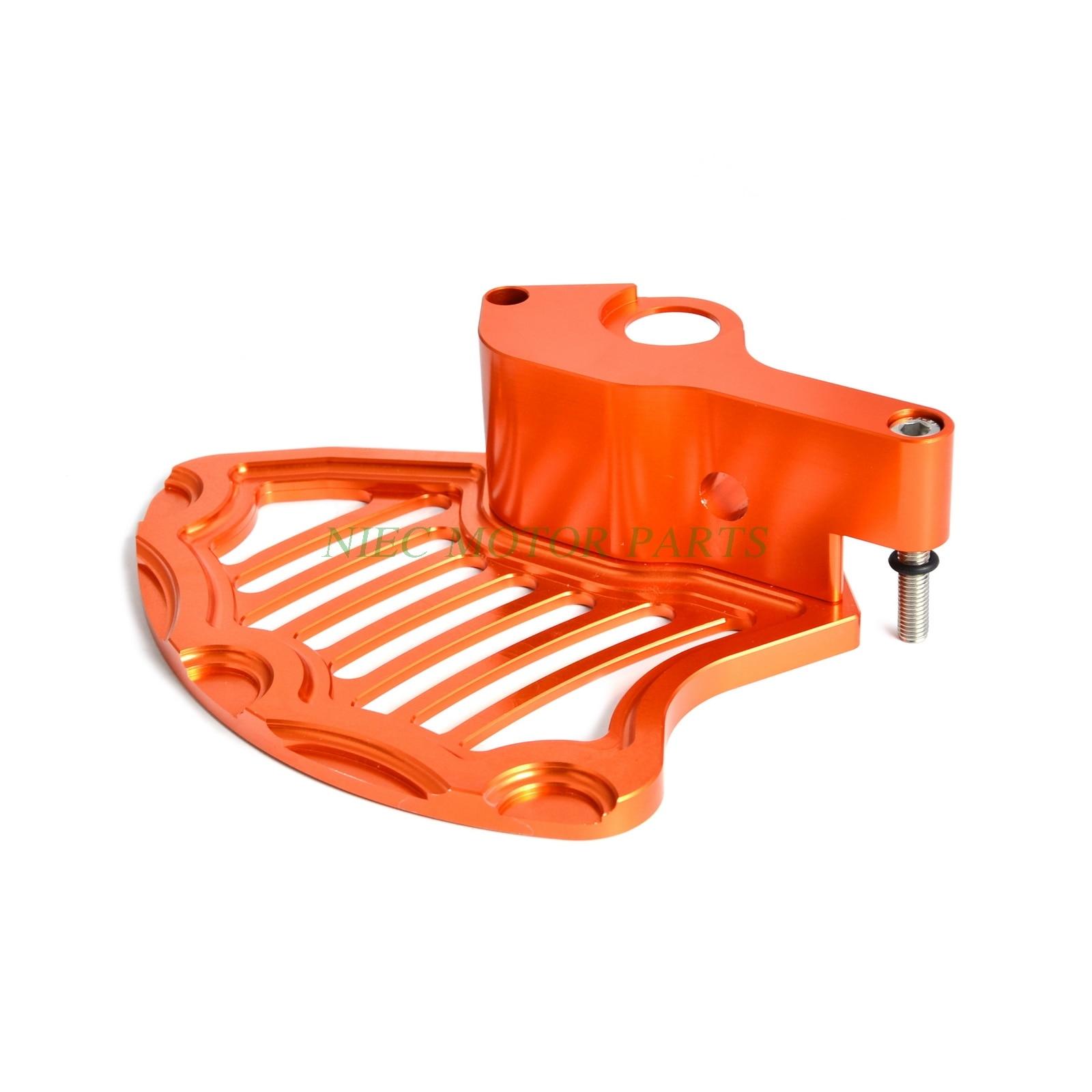 Orange CNC Front Brake Rotor Disc Guard For KTM 125-500 XC-W EXC EXC-F 2016-2020