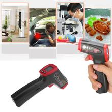 Cheap price Portable Handheld Laser LCD Digital Display IR Infrared Non-contact Thermometer  Temperature Meter Gun Point Pyrometer Imager