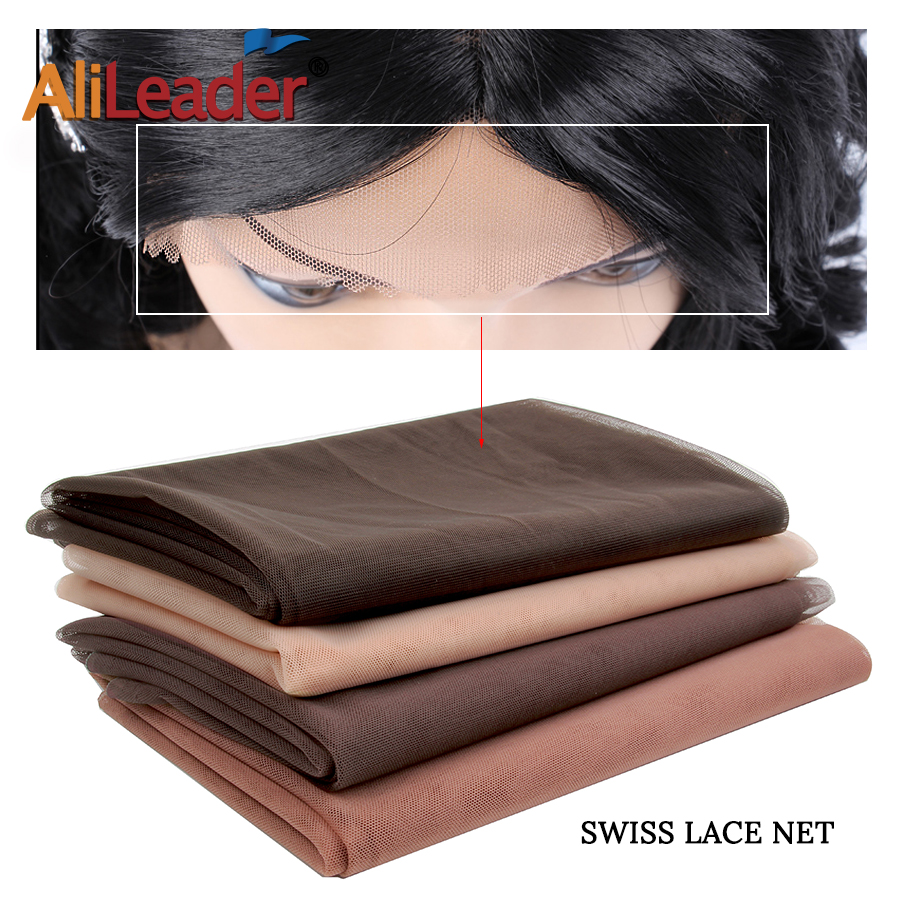 Tools & Accessories Hairnets Special Section Alileader 46cmx51cm Swiss Lace Net Hairnet Closure Wig Making Tools Brown Lace Wig Cap Accessories Wig Caps Net For Making Wigs Clients First