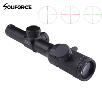 1 4x20 Rifle Scope Green Red Black Illuminated Crosshair Riflescope Reticle Caza Rifle Air Rifle Optical Sight for Hunting