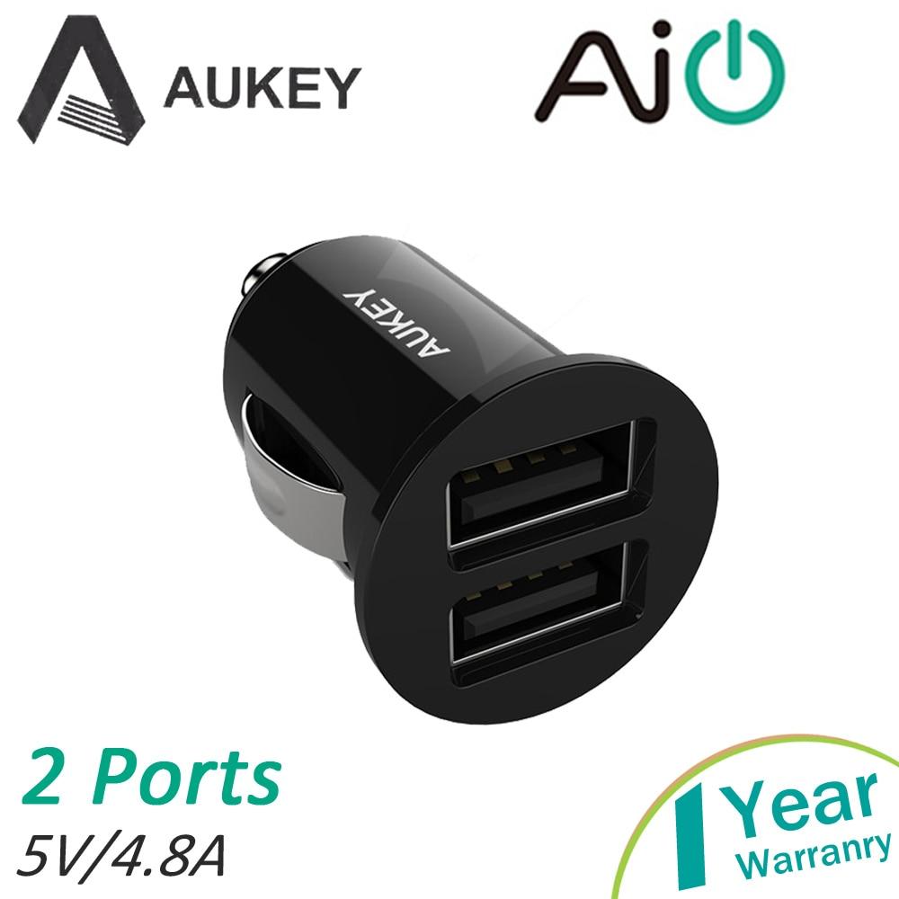 Aukey Dual Usb Car Charger font b Electronic b font font b Cigarette b font Built