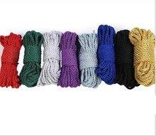 Soft Cotton Rope BDSM Bondage Silk Rope Restraints10 M Rope Cord Binding Binder Restraint,Sex bondage Adult Sex Toys