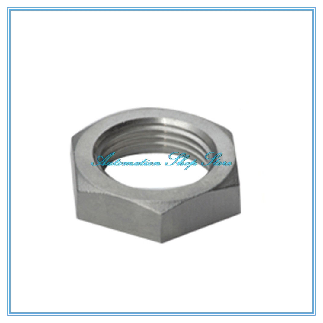 Pipe Fitting Stainless Steel 304 Hex Nuts Hex Nuts 1/4