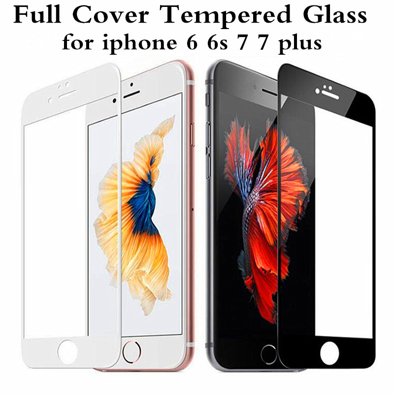 Preminum 0 3mm 2 5D 9H Full Coverage Cover Tempered Glass For font b iPhone b