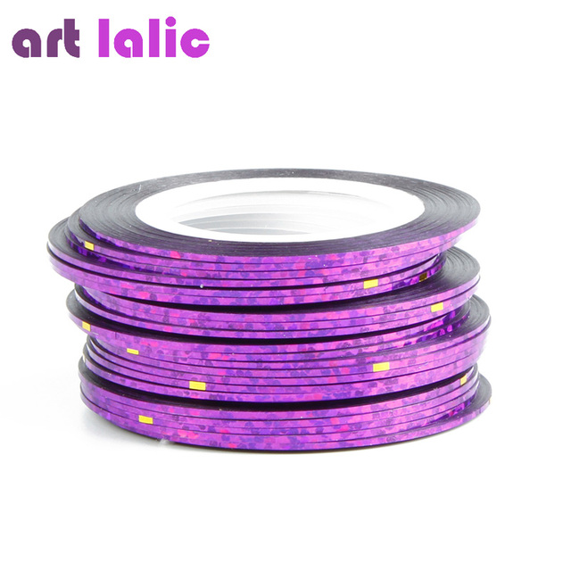 30pcs 30 multicolor mixed colors rolls striping tape line nail art please select color prinsesfo Gallery