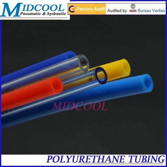 Mangueira pneumática termoplástico pu12 de poliuretano   8 tubo OD 12mm ID  8mm Comprimento 100 m tubo PU 7106cdfc23