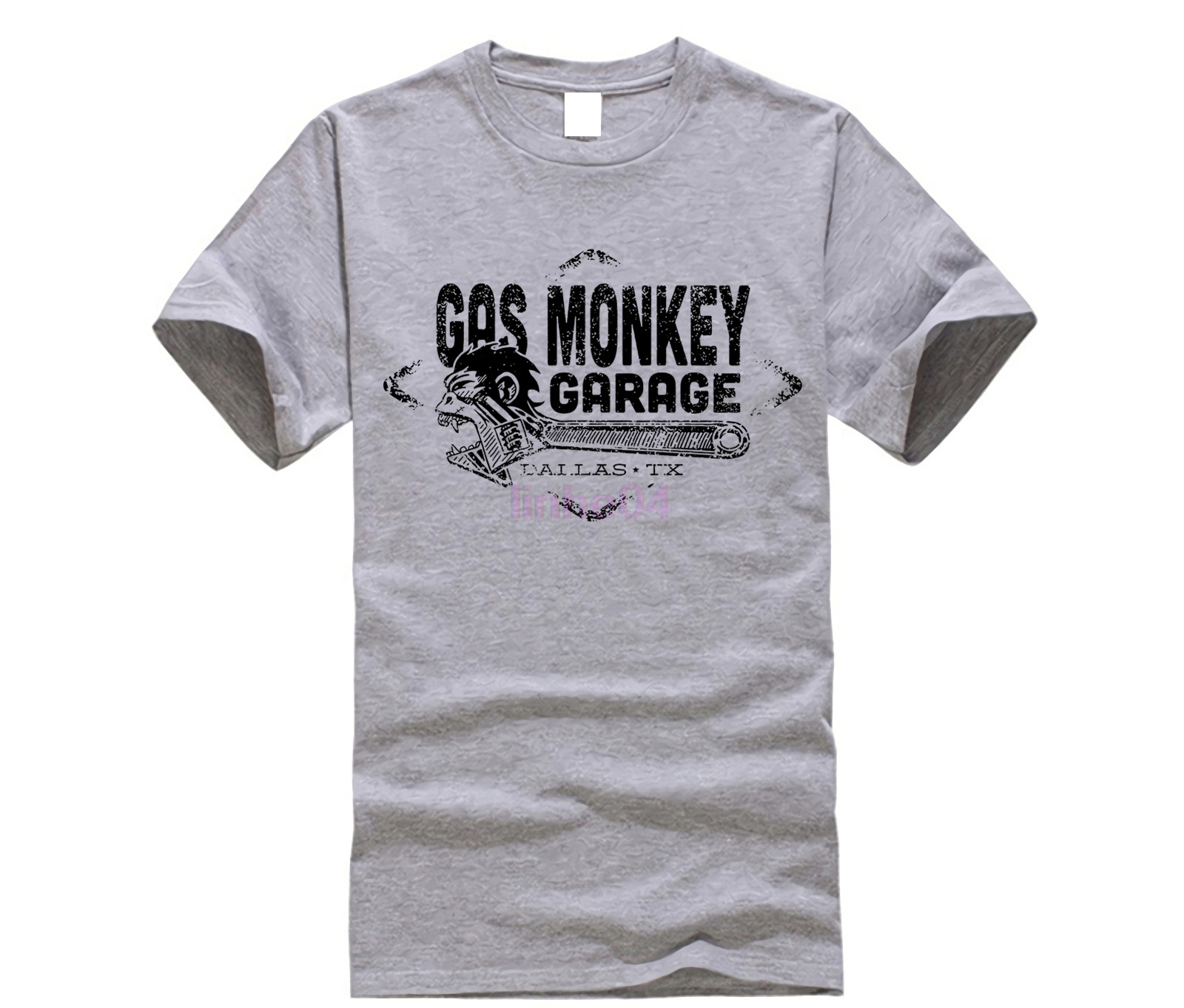 Men's Clothing Tops & Tees Hearty Gas Custom Hot Rods Monkey Garage Dallas Tee T-shirt Man Cotton Short Sleeve Tee T-shirt Big Clearance Sale