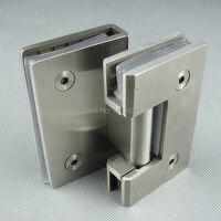 Free Shipping Stainless Steel Glass Door Hinge Bathroom Clip Shower Room Hinge Glass Clamp Household Hardware