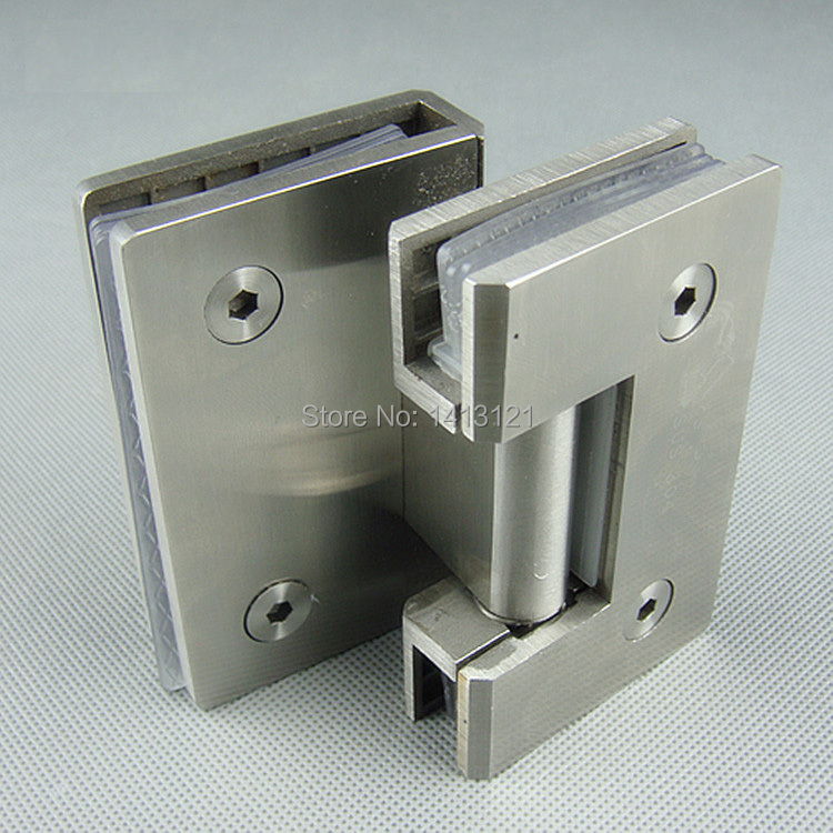 free shipping Stainless steel glass door hinge bathroom clip shower room hinge glass clamp household hardware 90-degree hinge rose gold 180 degree hinge open 304 stainless steel glass shower door hinges for home bathroom furniture hardware hm155