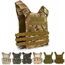 Black Tactical Combat Vest JPC Outdoor Hunting Wargame Paintball Protective Plate Carrier Waistcoat Lightweight Airsoft Vest outdoor tactical molle vest military airsoft shooting vest paintball protective plate carrier airsoft vest waistcoat