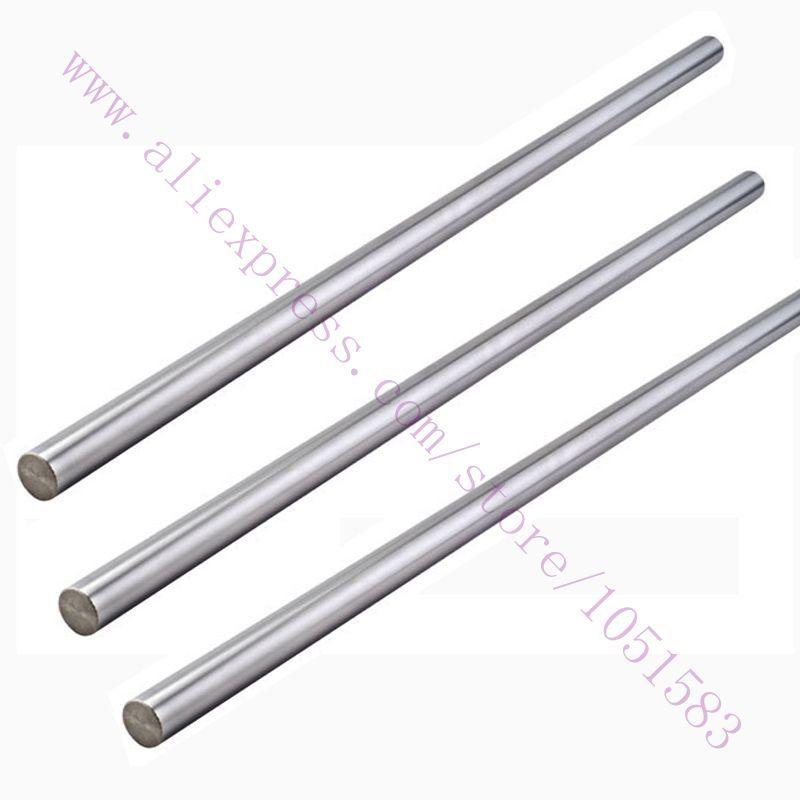 one set Reprap ADAPTO 3D Printer Diameter 8mm smooth rods Linear Shaft Optical Axis chrome plated