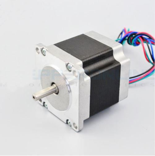 Nema 23 Stepper Motor 2.8A 4-Lead 6.35mm Shaft 1.26Nm CNC Robot 3D Printer pu leather cover stand case for lenovo tab 4 10 plus tb x704f tb x704n 10 1 tablet protective tab4 10 plus transformers cover