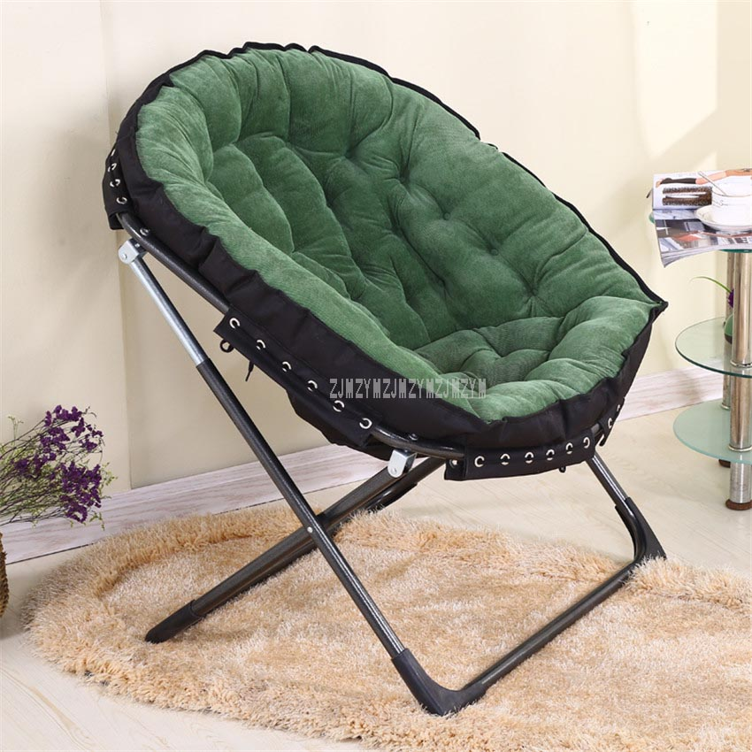 Single Sofa Lazy Chaise Lounge Chair Reading Watching TV Living Room Bedroom Foldable Upholstered Soft Leisure Lounger Chair