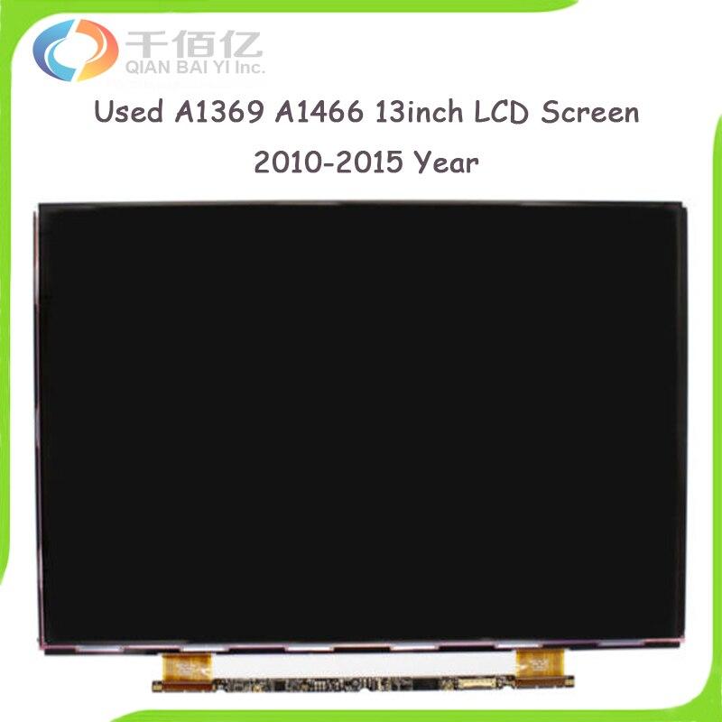 Ordinateur portable d'occasion A1369 A1466 écran LCD pour MacBook Air 13 ''A1369 A1466 écran LCD 2010-2015 ans