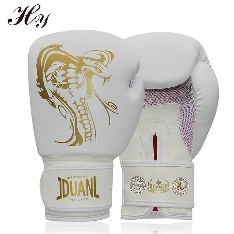 Bokshandschoenen Voor Sparring 10 oz PU Muay Thai Bokshandschoenen - Sportkleding en accessoires