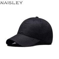 NAISLEY U Nisexปรับขนาดฤดูร้อนหมวกเบสบอลหมวกผ้าฝ้ายผู้ชายหมวกหมวกสำหรับผู้ชายผู้หญิงHip Hop SnapbackหมวกC ...