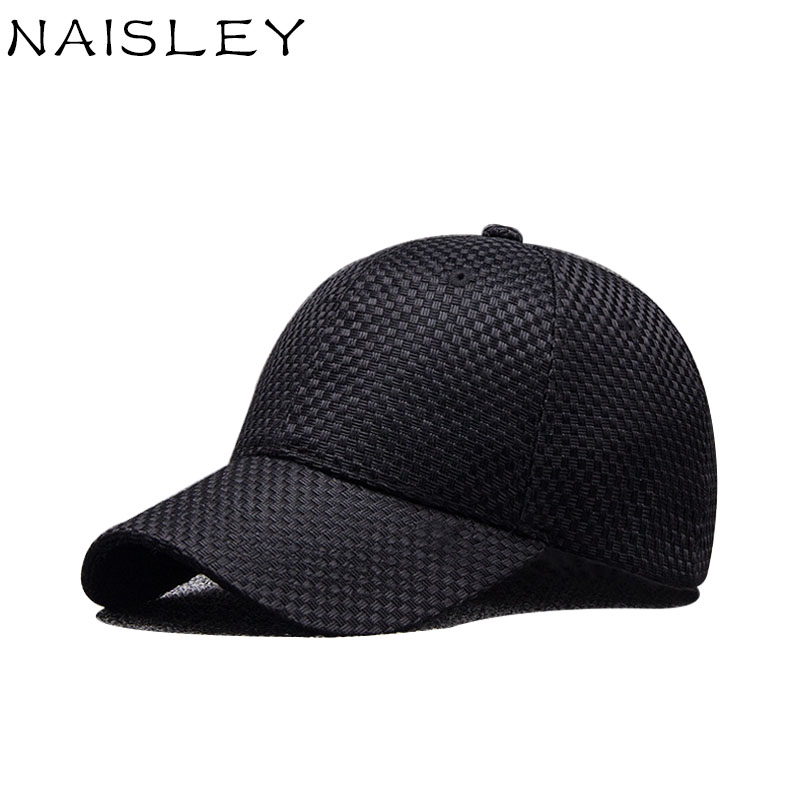 NAISLEY Unisex Adjustable Size Summer Baseball Cap Cotton Cap Men Hat Hats For Men Women Hip Hop Snapback Hat Casquette Gorras brand winter hat knitted hats men women scarf caps mask gorras bonnet warm winter beanies for men skullies beanies hat