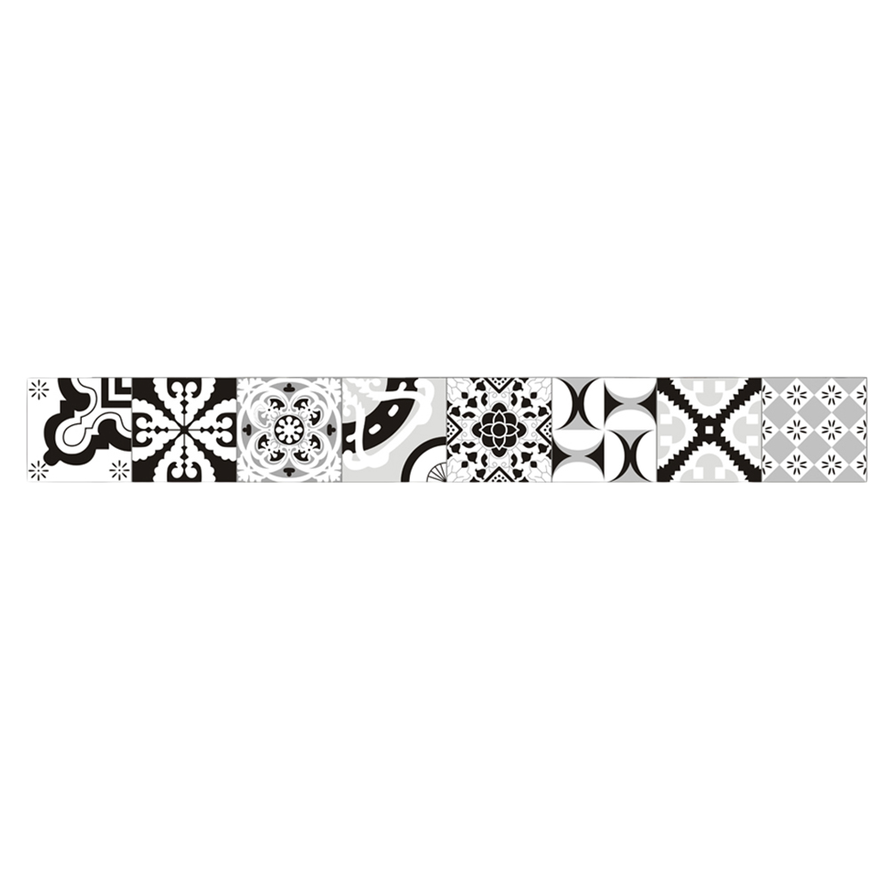 Wallpaper Border Sticker European Pvc Waterproof Floral Sticker