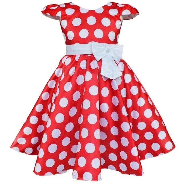 Cartoon Dressing Gown: IEFiEL Baby Girls Polka Dot Cap Sleeves V Neck Bowknot