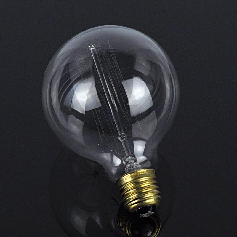 LightInBox E27 40W Retro Edison Style Light Bulbs G80 tungsten lamp Wholesale Price 220V Incandescent Vintage Bulb