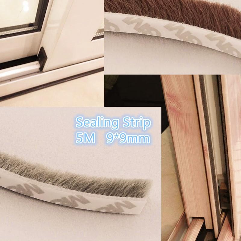1PCS  YT514  9*9mm  5 Meters Door and Window Rubber Seal Strip ; Doors Sealing Strip  Dust-Proofing Seal  Dust Seal