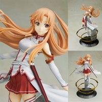 Kotobukiya Anime Figure Sword Art Online Asuna Yuuki 23cm PVC Action Figure Knights of Blood Ver. Swordsman Model Toys Gift
